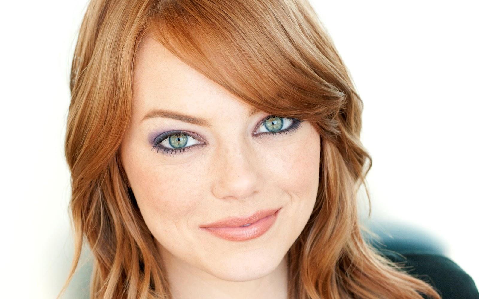 Colore capelli carnagione chiara e occhi verdi