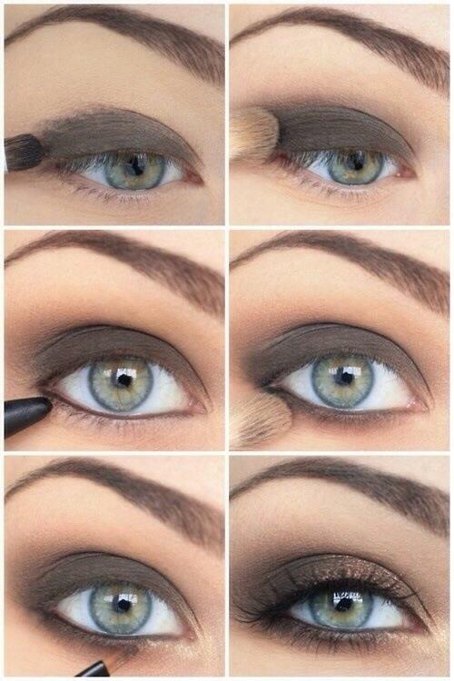 spesso Smokey eyes step by step – occhi chiari | Lagani Make Up Vecchio IY82