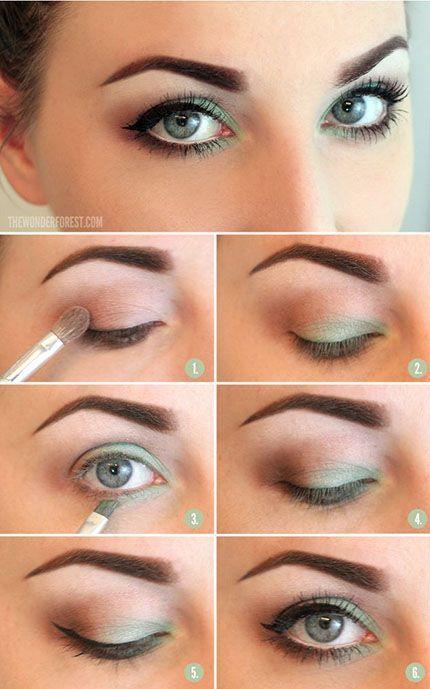 makeup verde